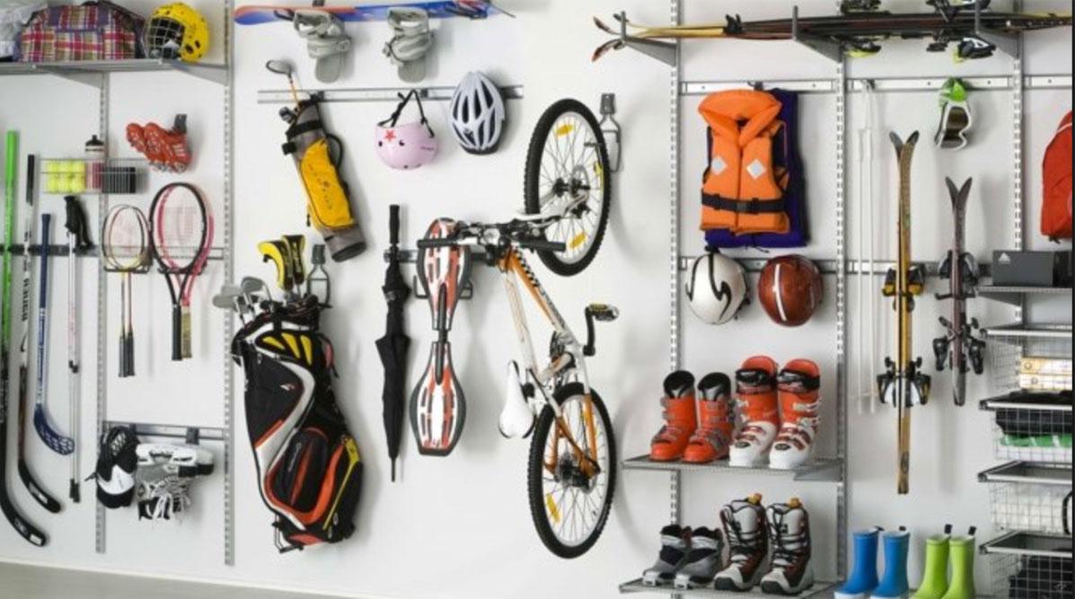 stocker ses équipement sportifs